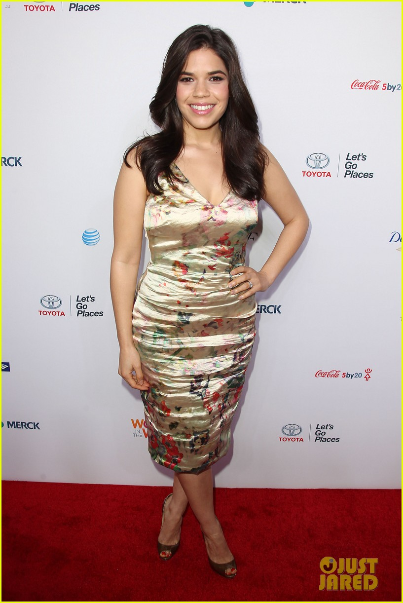 america ferrera coco rocha women in the world summit 2014 28