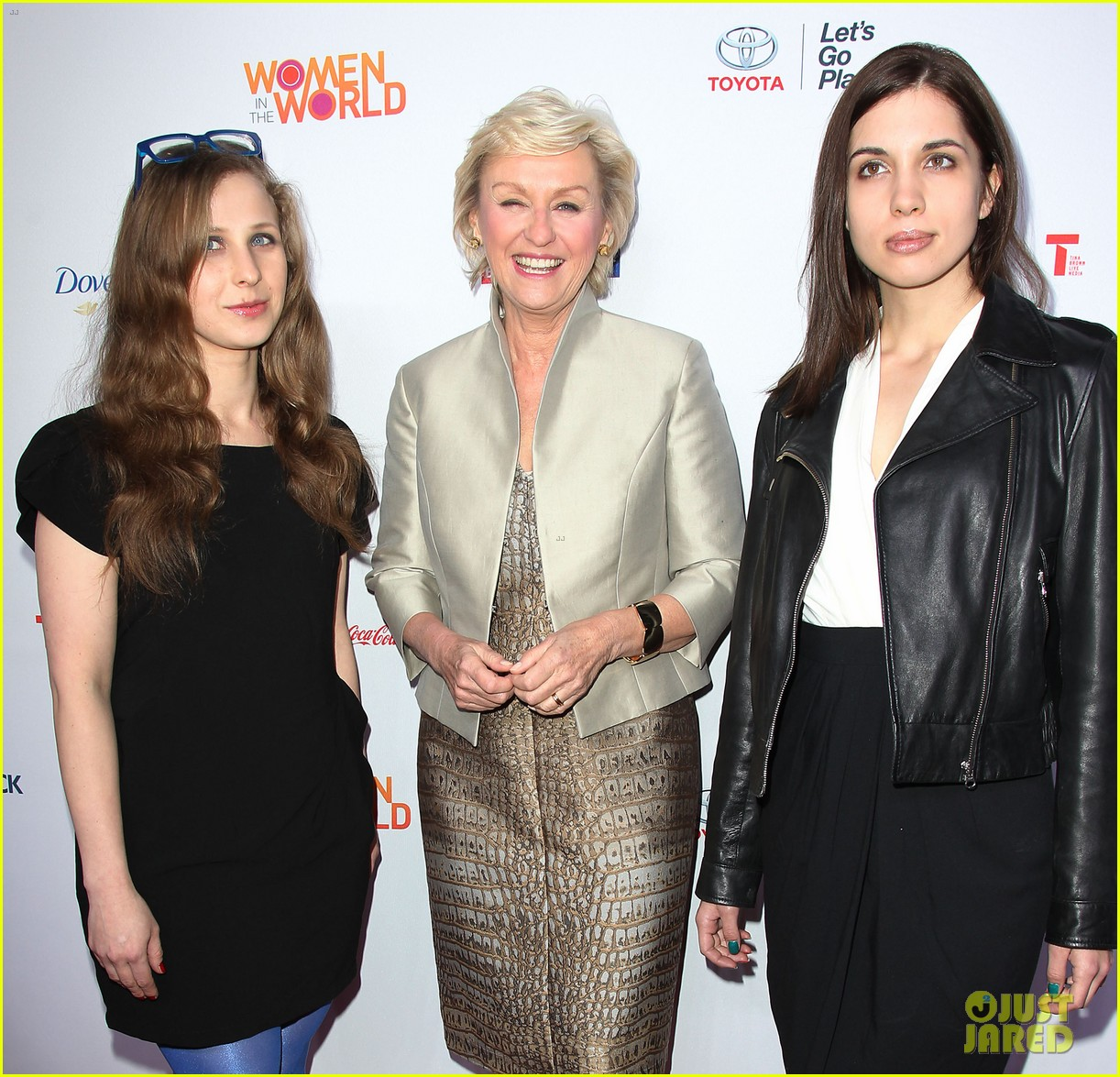 america ferrera coco rocha women in the world summit 2014 303084453
