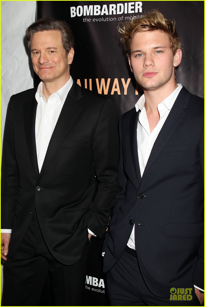 colin firth jeremy irvine railway man to nyc 143086764