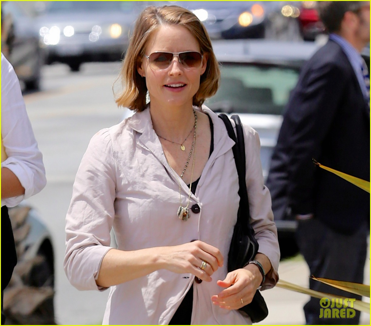 jodie foster alexandra hedison look so happy in first post marriage appearance 01