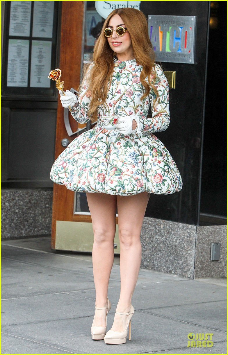 lady gaga musical talents at letterman 123083493