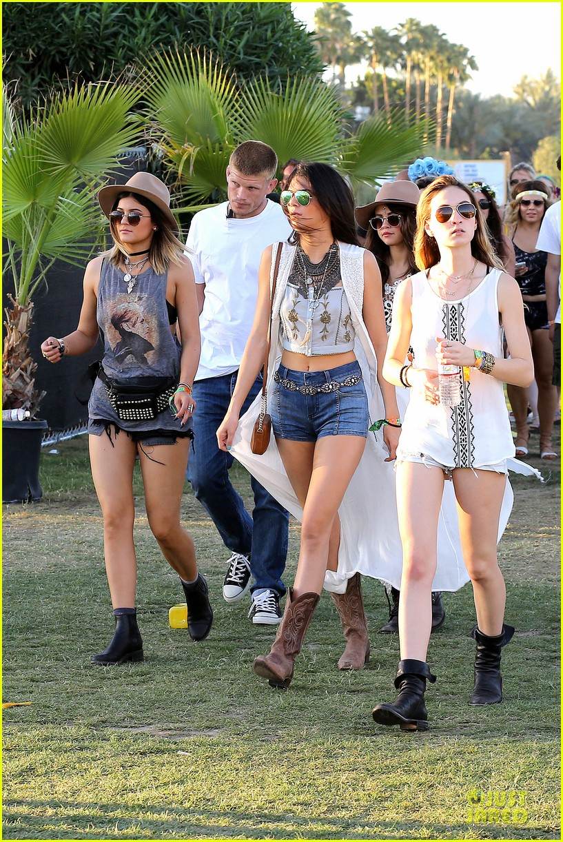 selena gomez bra sheer dress at coachella 073089454