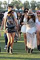 selena gomez bra sheer dress at coachella 08