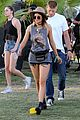 selena gomez bra sheer dress at coachella 19