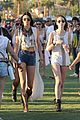 selena gomez bra sheer dress at coachella 24