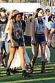 selena gomez bra sheer dress at coachella 25