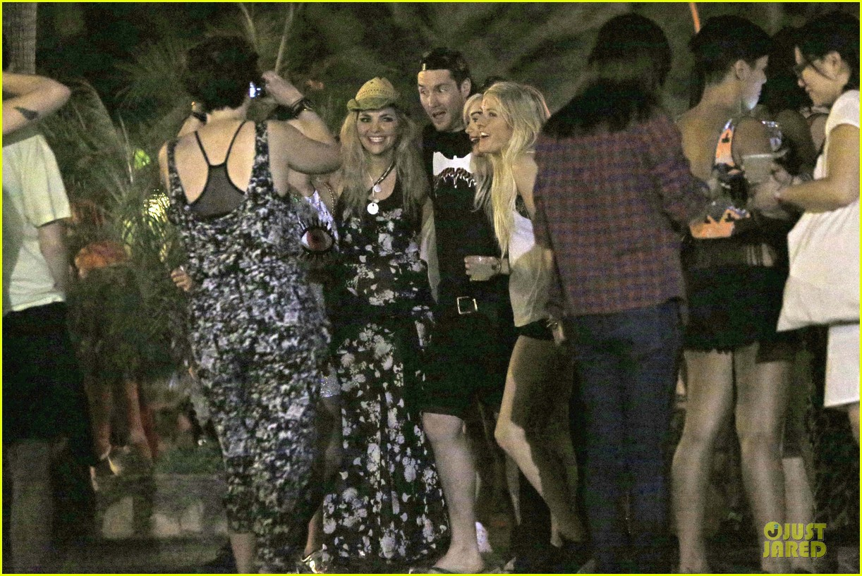 ellie goulding rita ora hang out at coachella 30