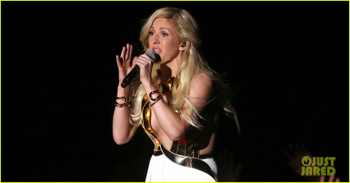 ellie goulding performs beating heart at mtv movie awards 2014 video 02