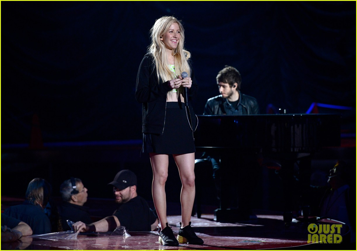 mtv movie awards 2014 conan obrien ellie goulding rehearse 01