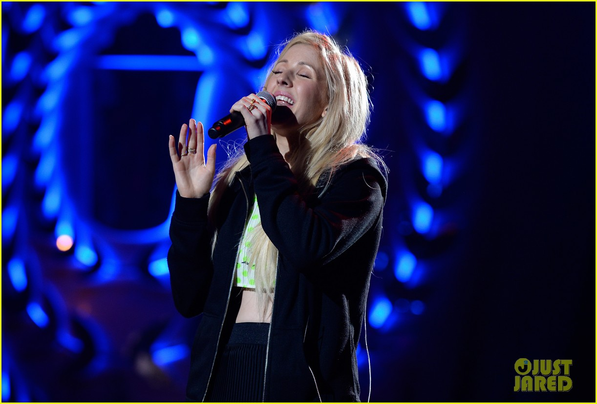 mtv movie awards 2014 conan obrien ellie goulding rehearse 083090339
