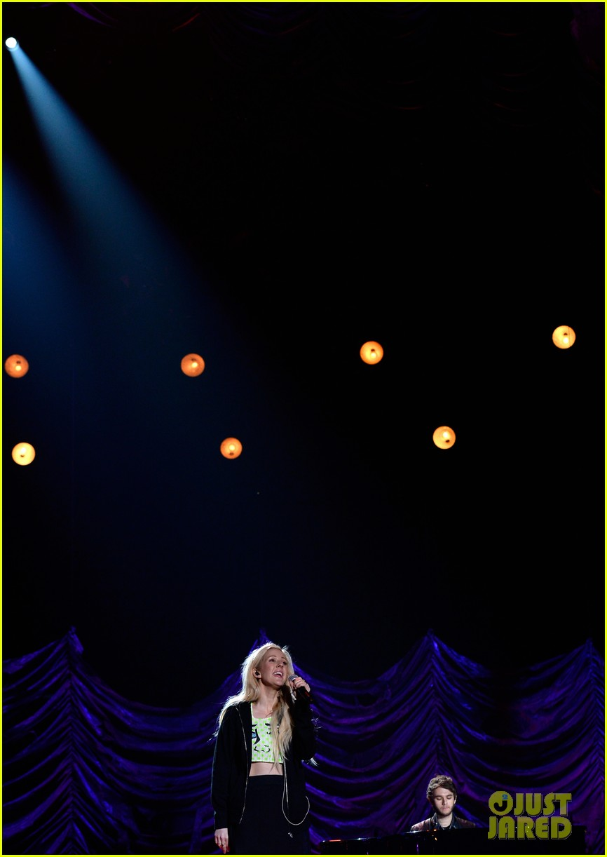 mtv movie awards 2014 conan obrien ellie goulding rehearse 16