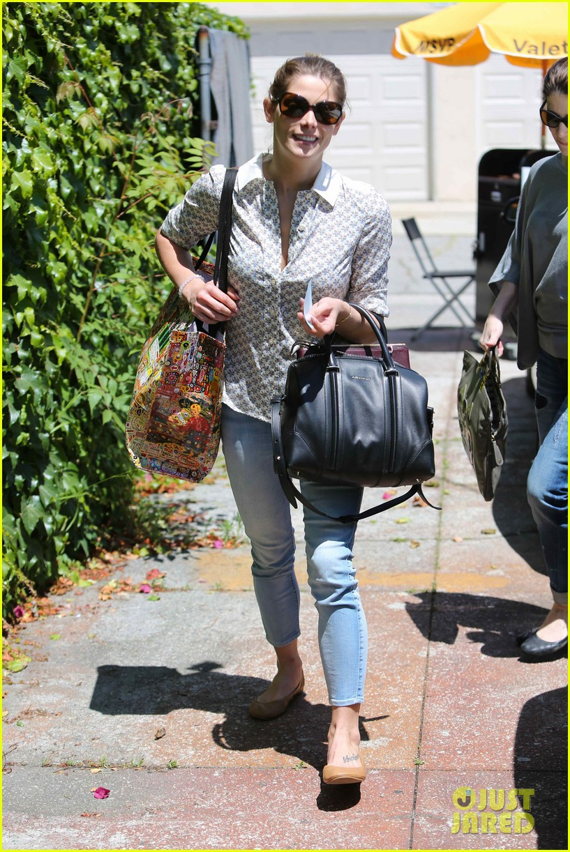 ashley greene spends weekend with mother michele 02