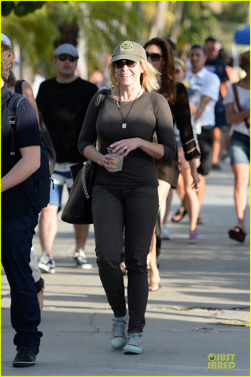 chelsea handler black bra in sheer top 033085131