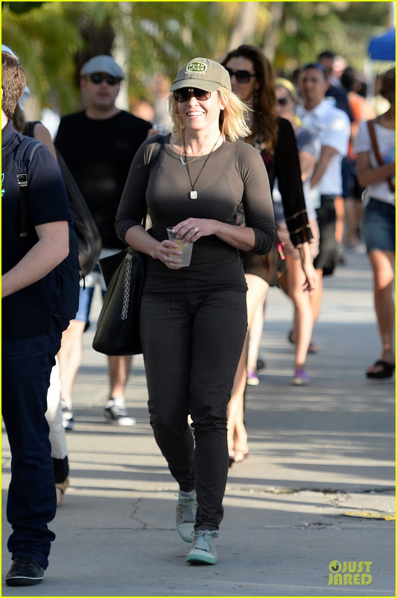 chelsea handler black bra in sheer top 09