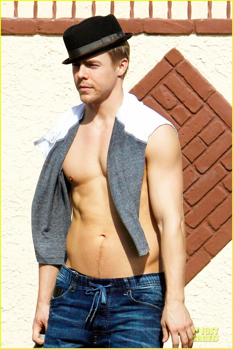 derek hough shirtless body reason why you should dance 043095128