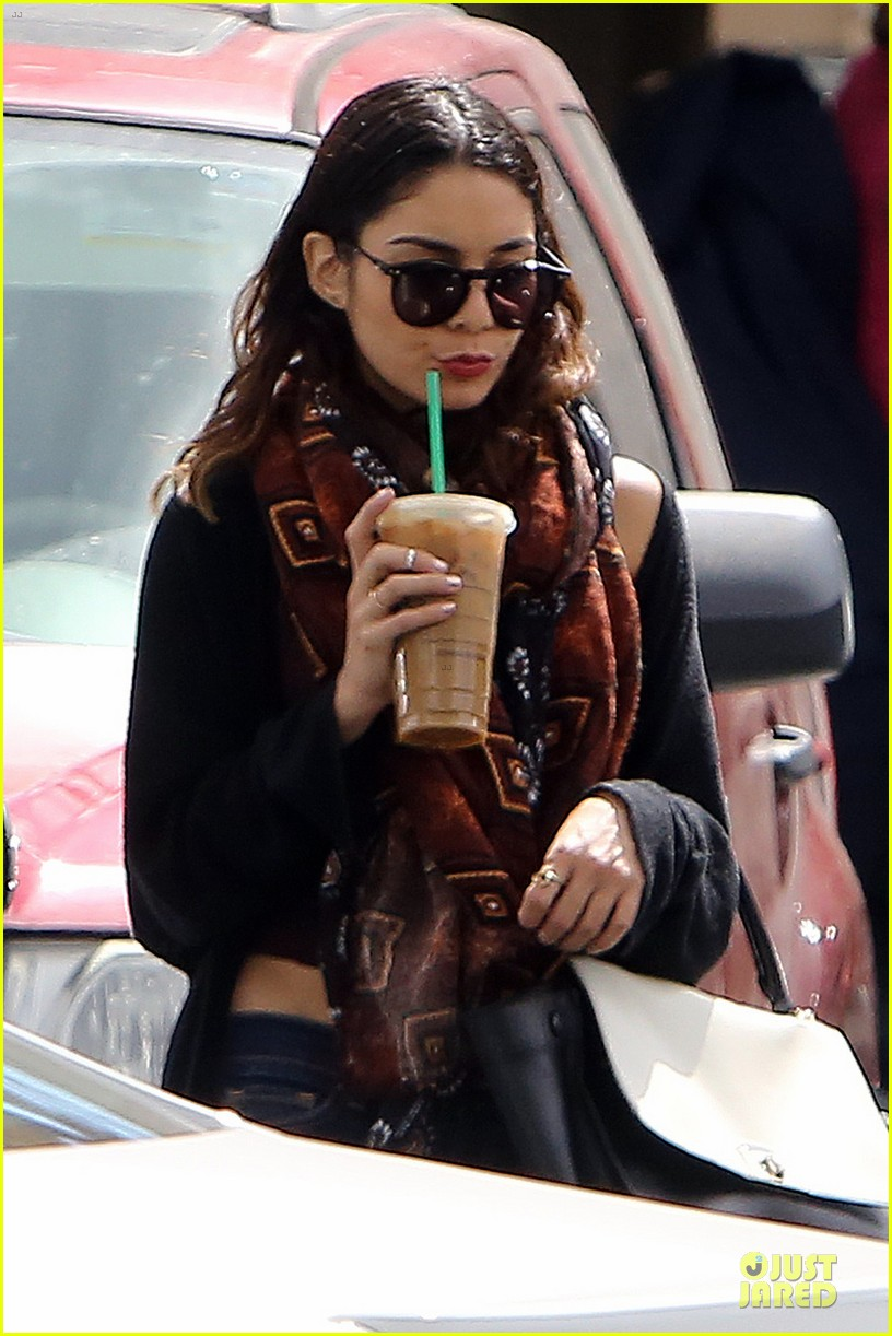 vanessa hudgens get caffeine wake up call 023083514