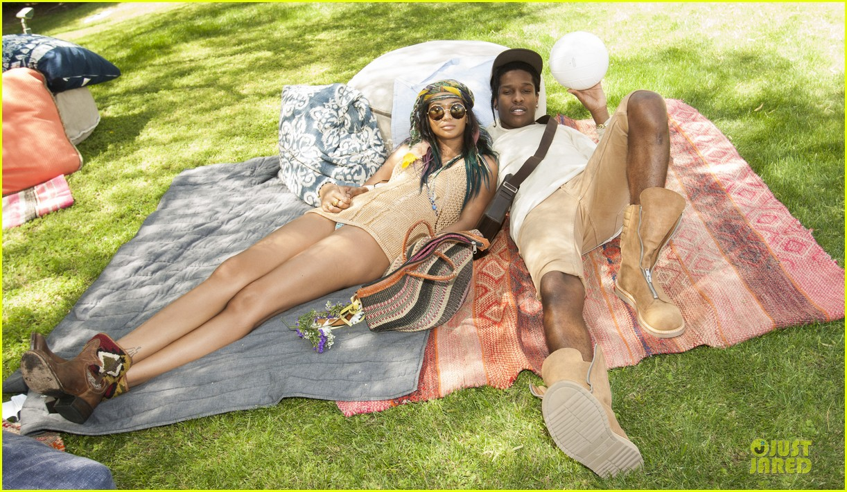 chanel iman asap rocky relaxes at coachella 03