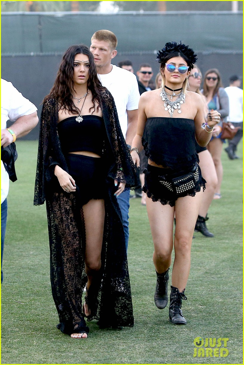 kendall kylie jenner went all out with coachella outfits 033090278