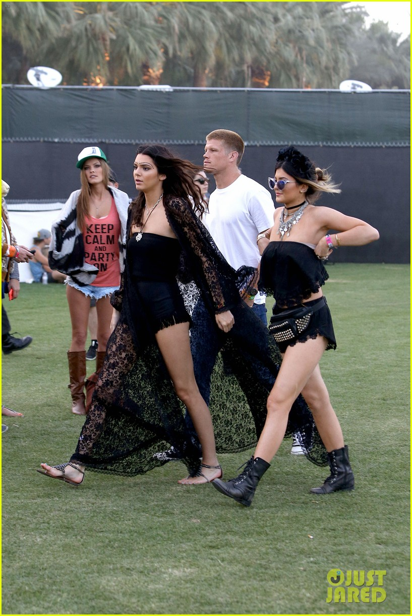 kendall kylie jenner went all out with coachella outfits 30