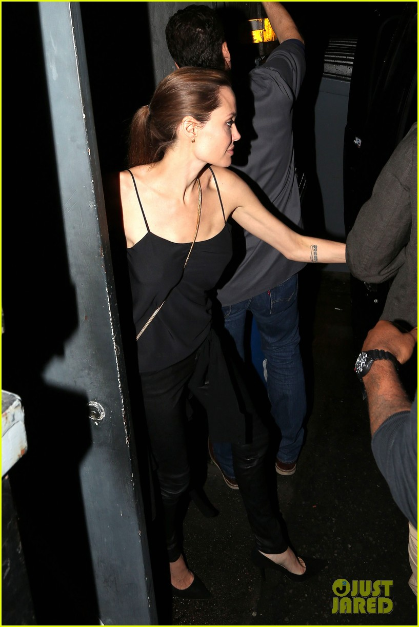 angelina jolie brad pitt date night 013100775