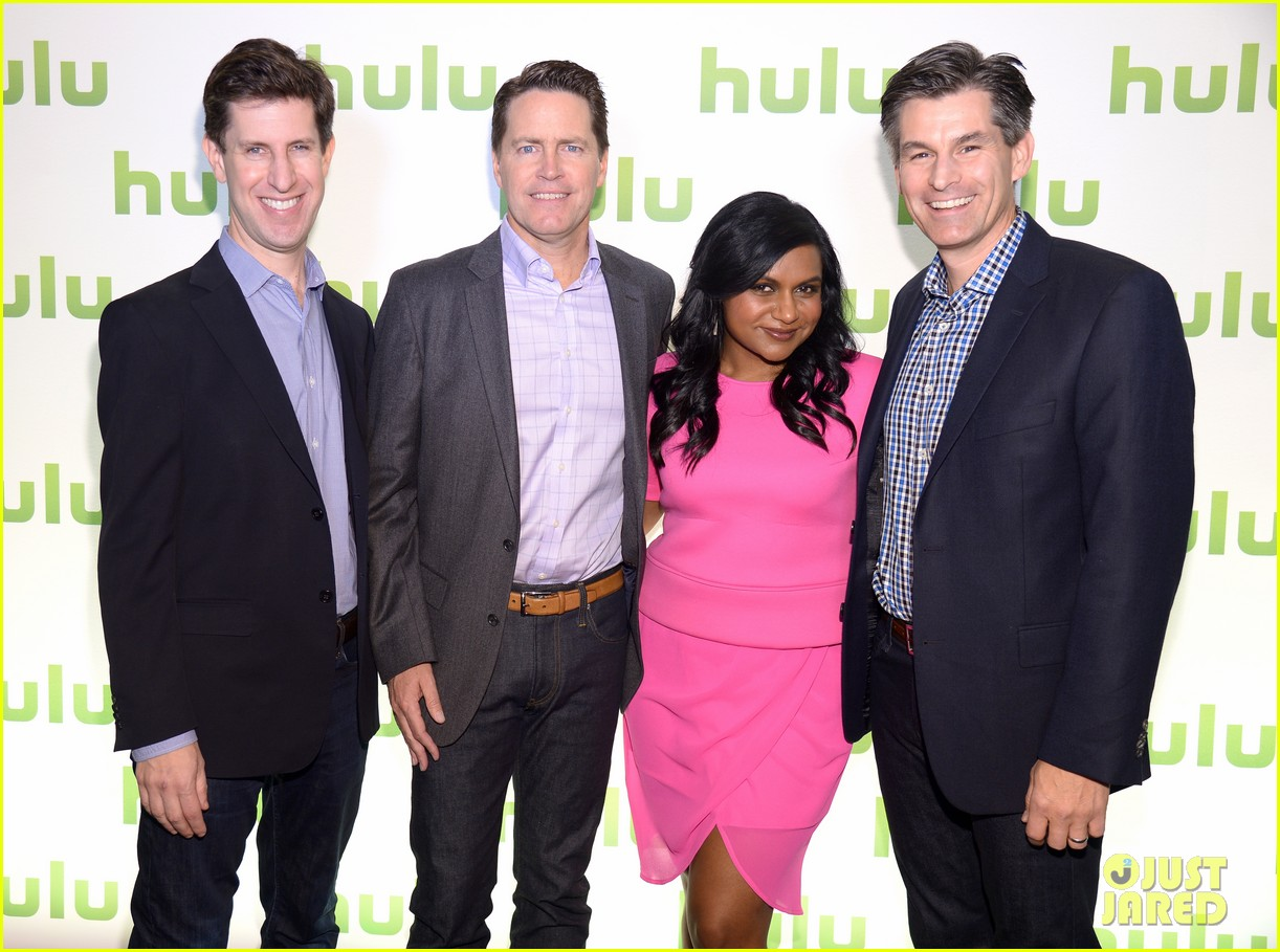 mindy kaling gillian jacobs hulu upfronts 02