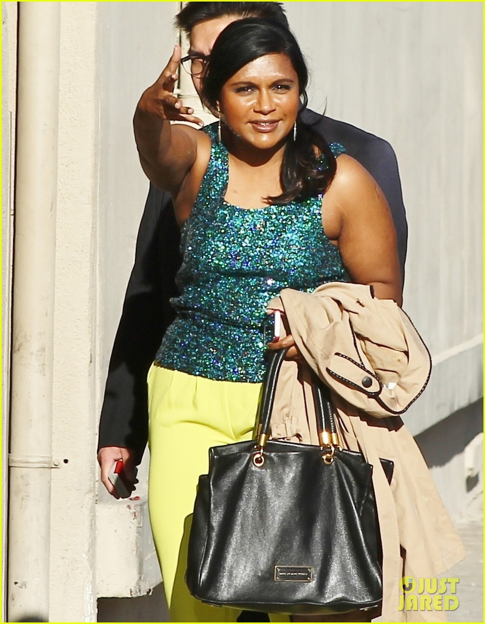 mindy kaling takes lots of effort to look like a normal person 02