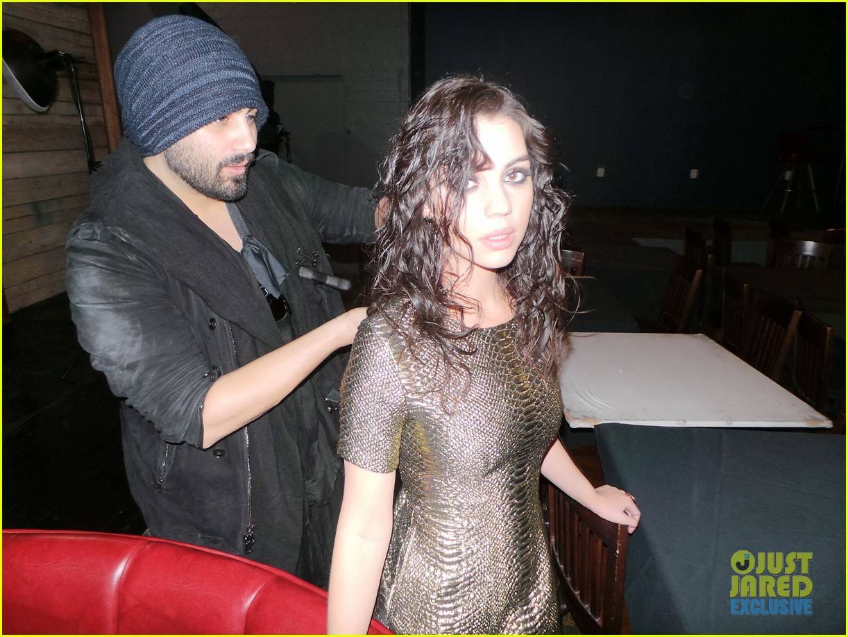 adelaide kane just jared spotlight series behind the scenes photos 05