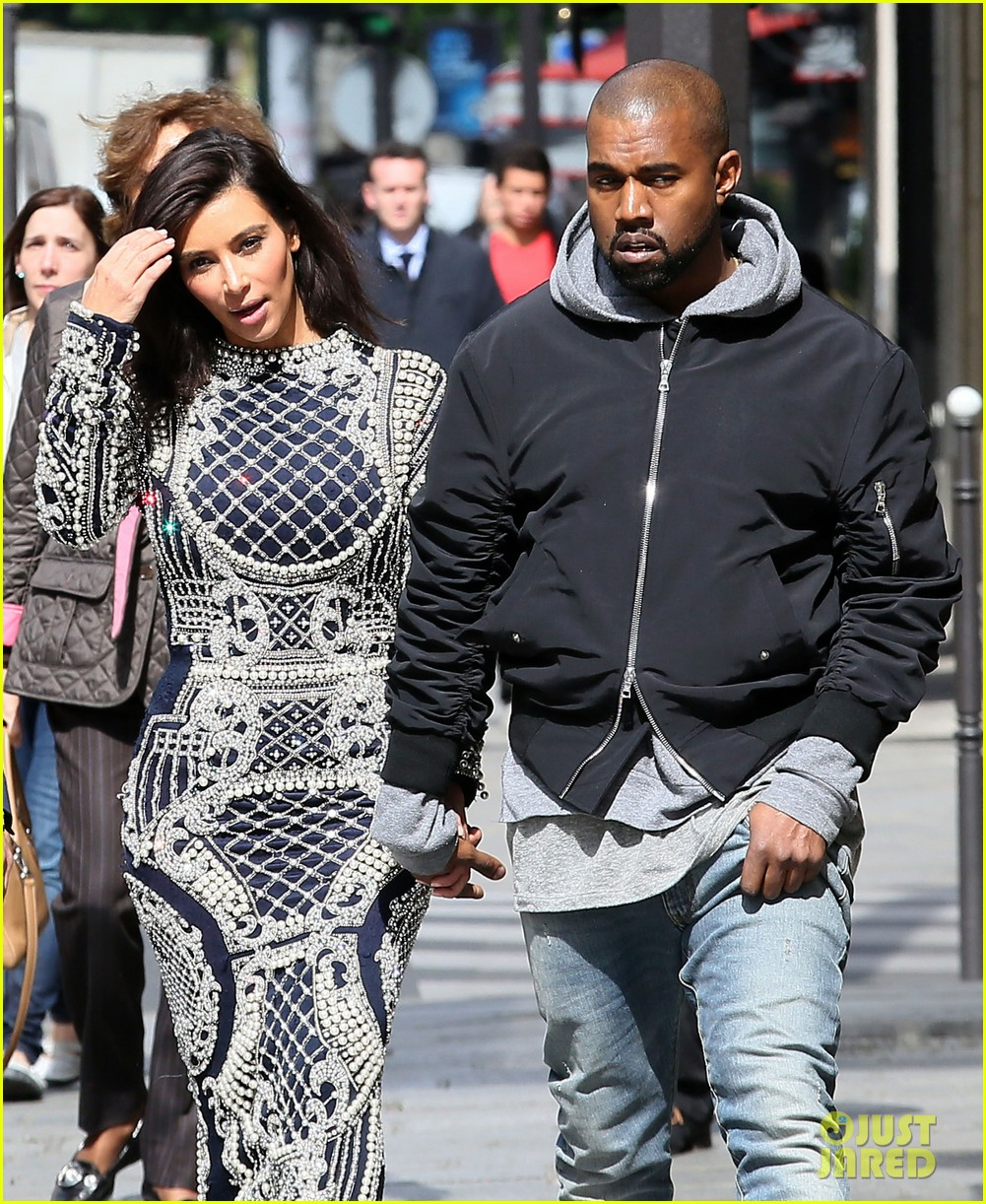 kim kardashian changes into two different dresses 173091992