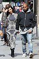 kim kardashian changes into two different dresses 05