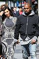 kim kardashian changes into two different dresses 17