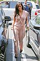 kim kardashian rocks pink jumpsuit with totally sheer back 12