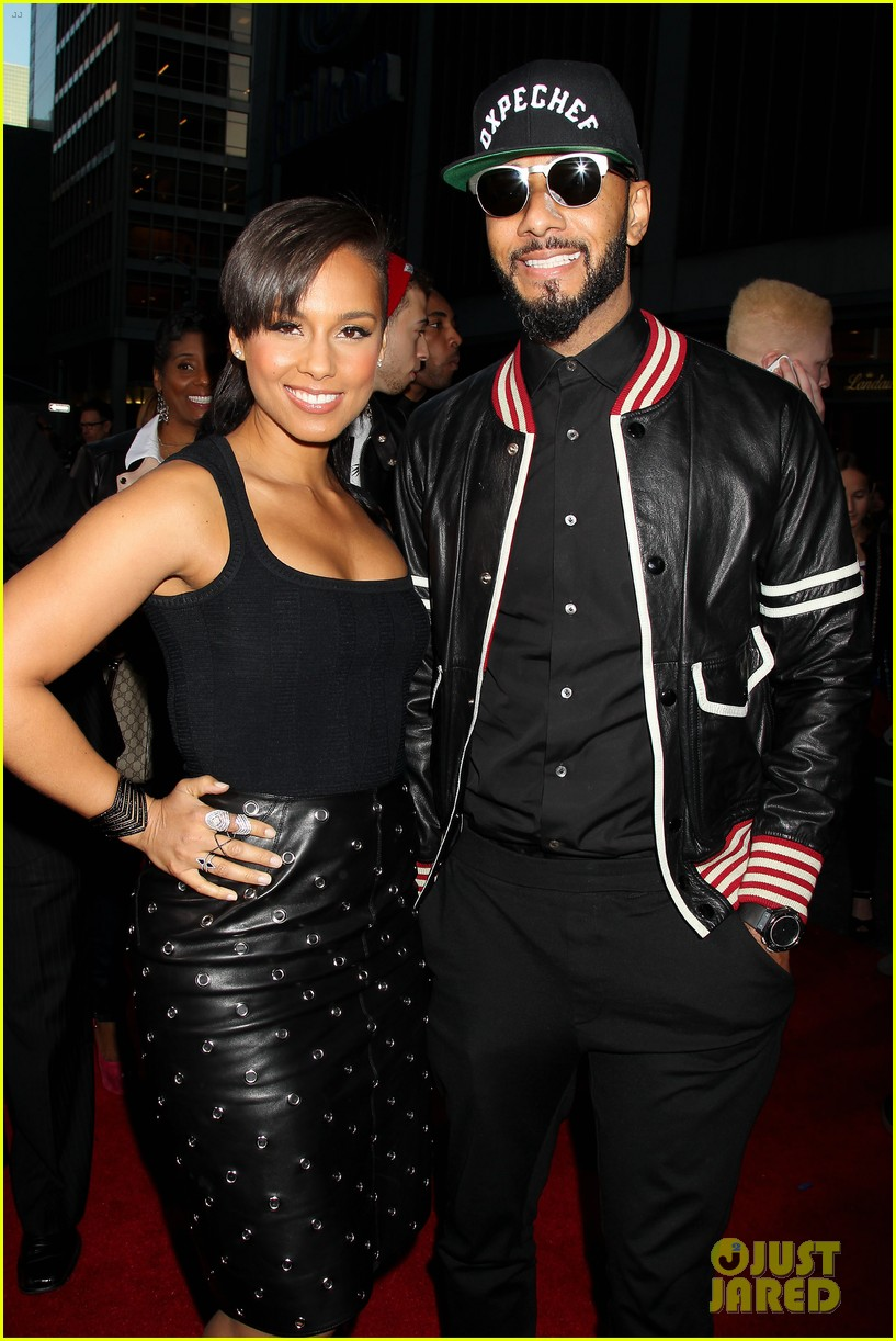 alicia keys pharrell williams amazing spider man 2 premiere 253098673
