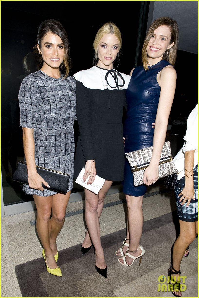 jaime king nikki reed are fashionistas at jimmy choos choo 08 launch party 013093201