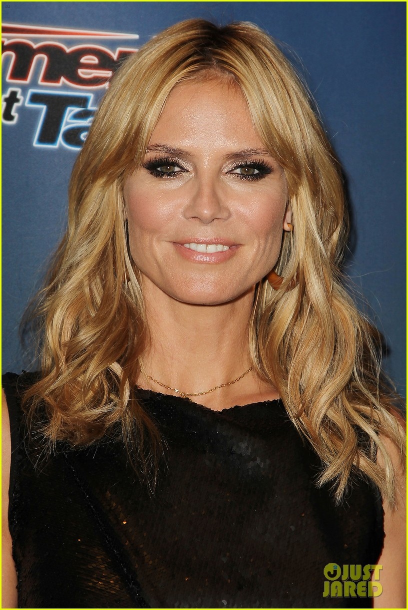heidi klum americas got talent new york 14