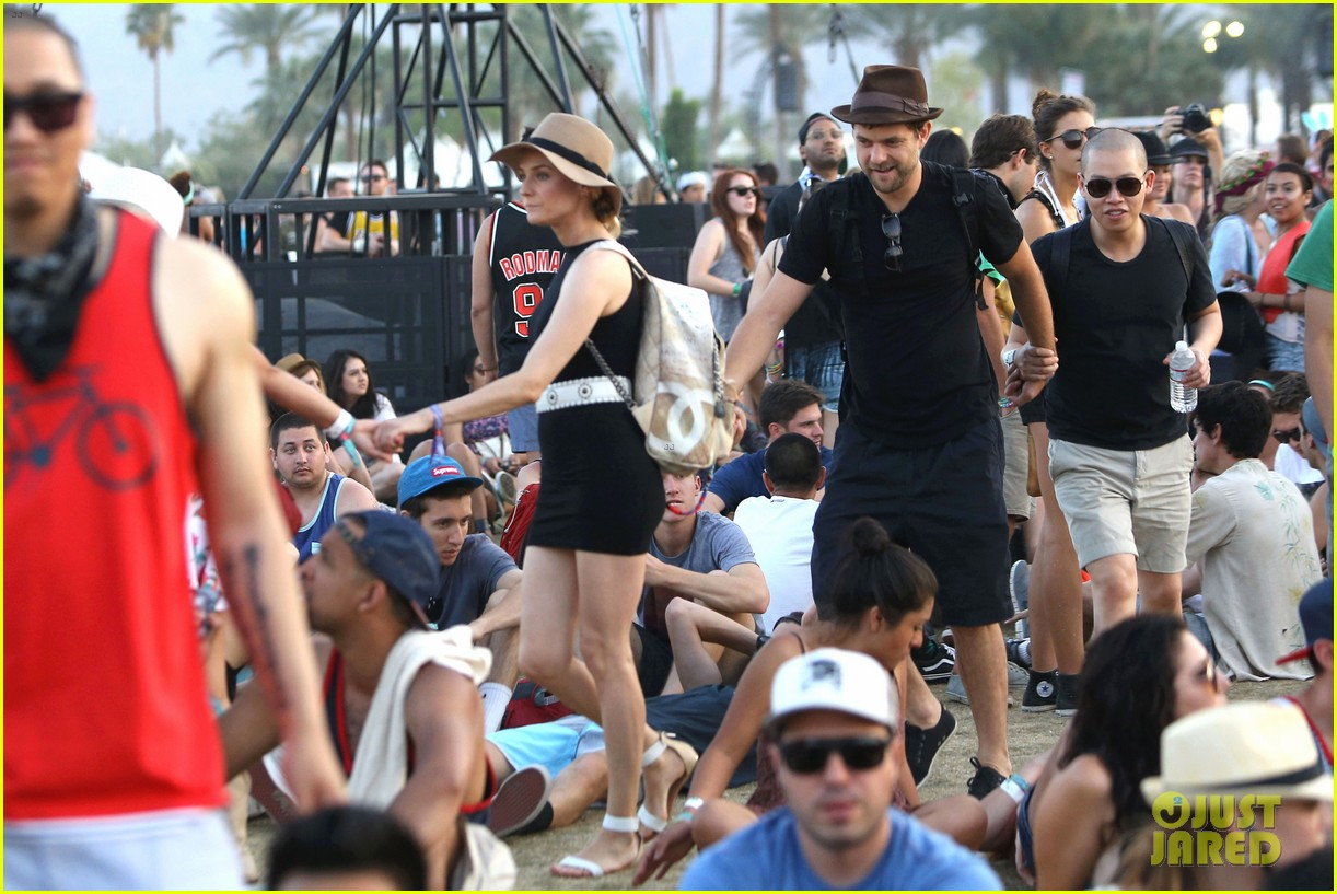 joshua jackson diane kruger happily wrap up their weekend at coachella 05