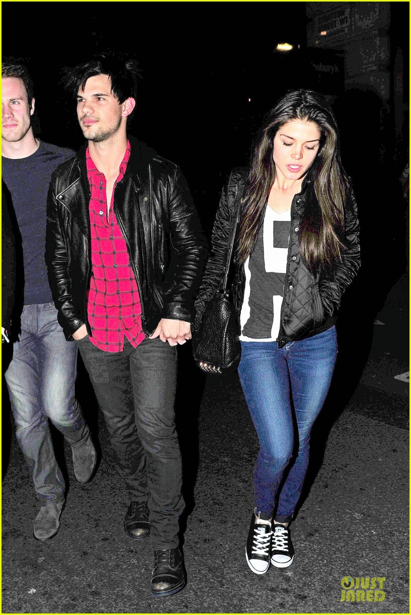 taylor lautner marie avgeropoulos inseparable london 05
