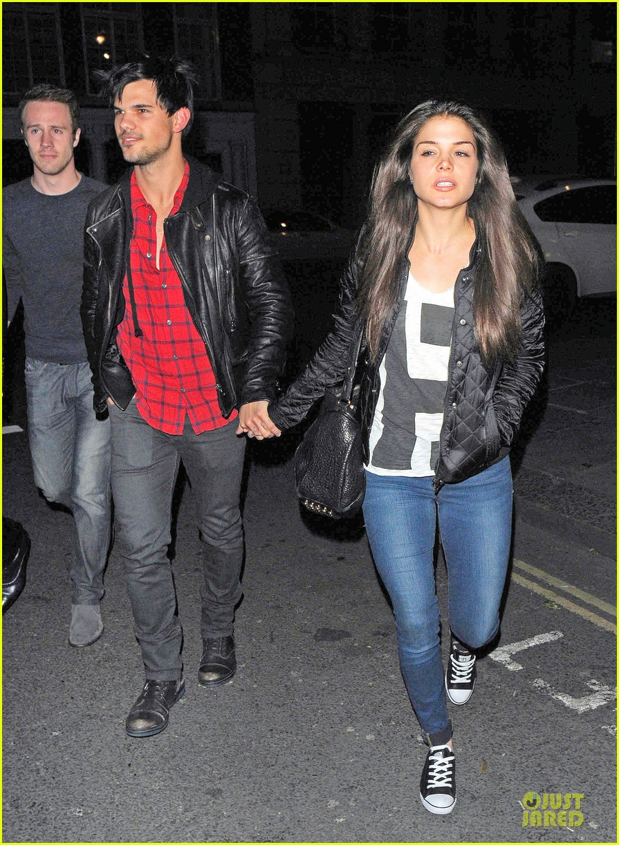 taylor lautner marie avgeropoulos inseparable london 12