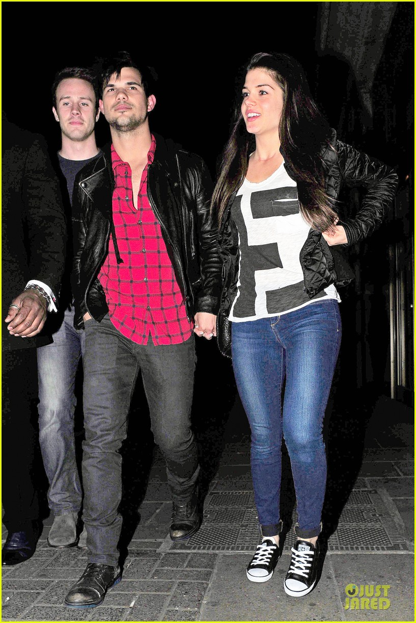 taylor lautner marie avgeropoulos inseparable london 203092544