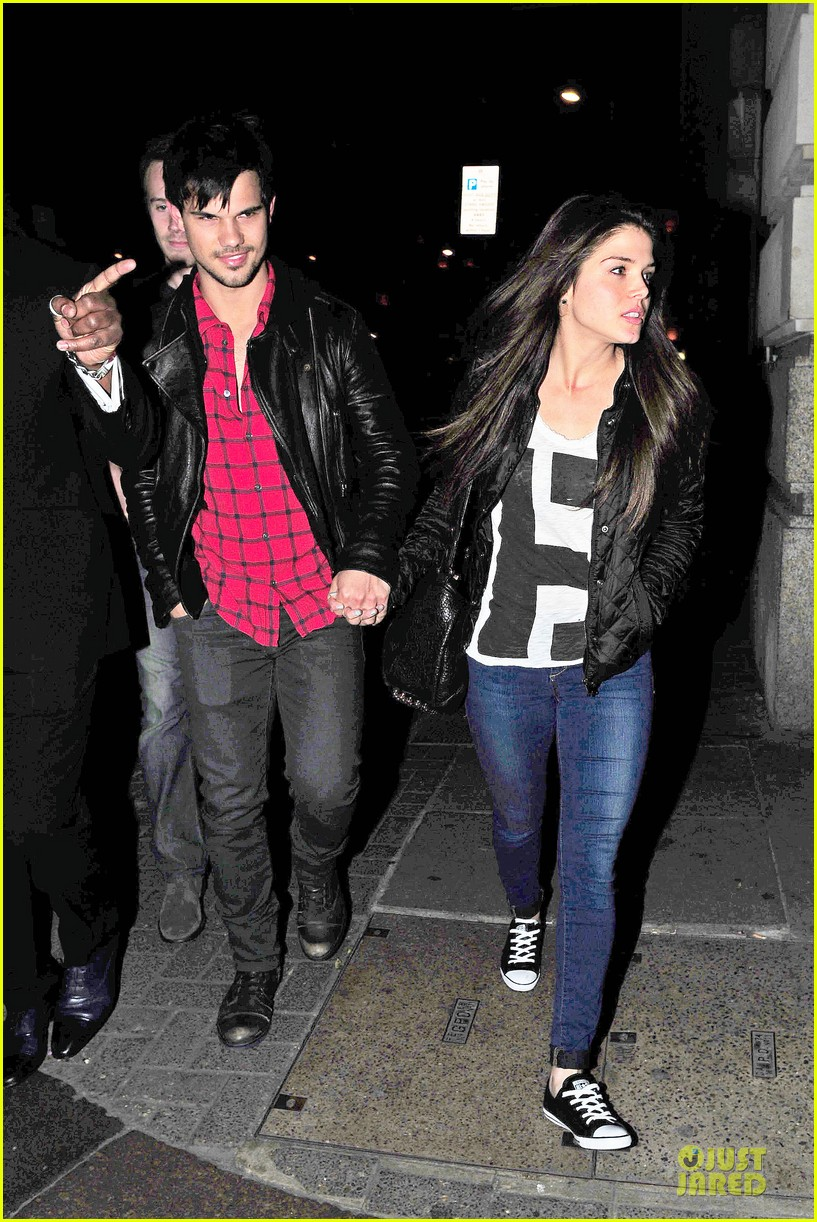 taylor lautner marie avgeropoulos inseparable london 253092549