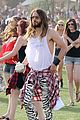 jared leto zebra print pants coachella day two 11