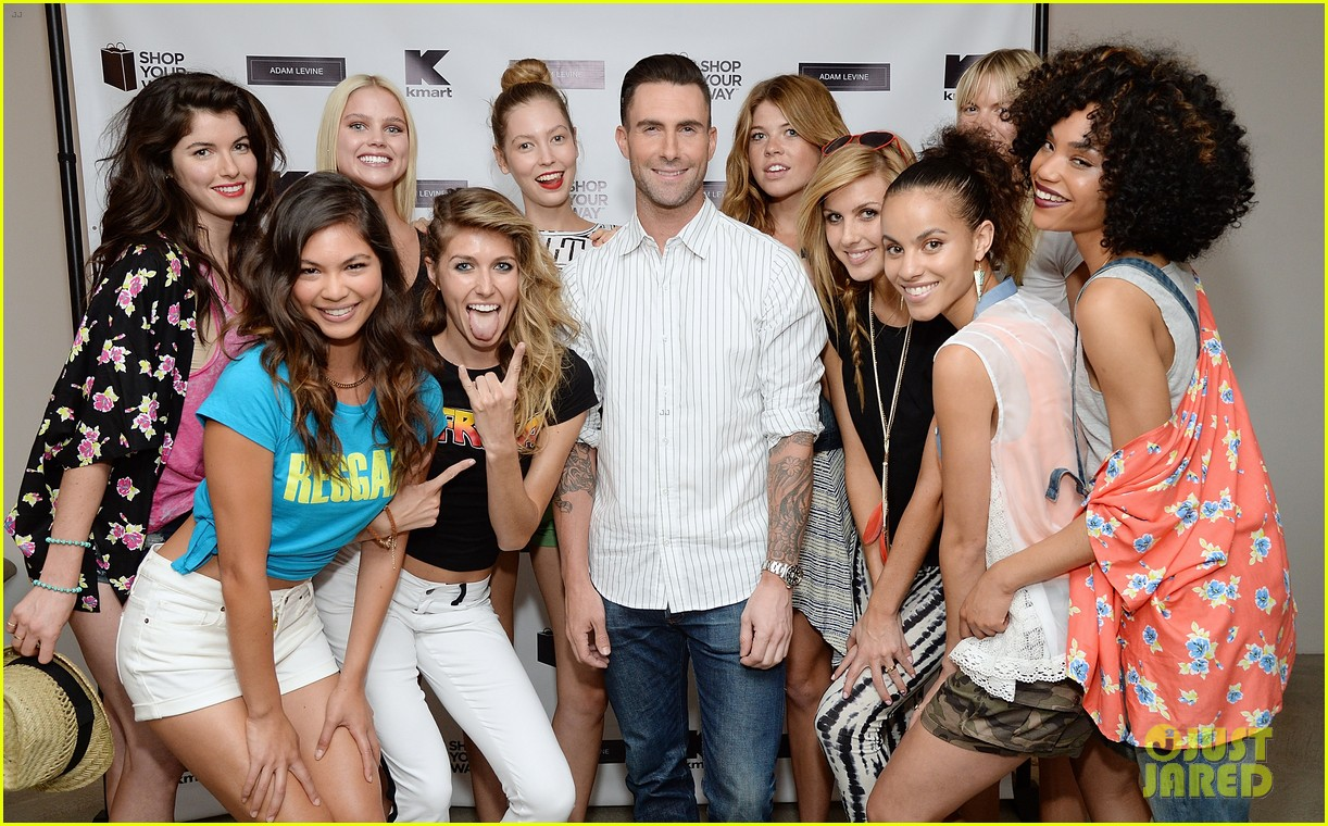 adam levine celebrates launch of new womens summer collection 09