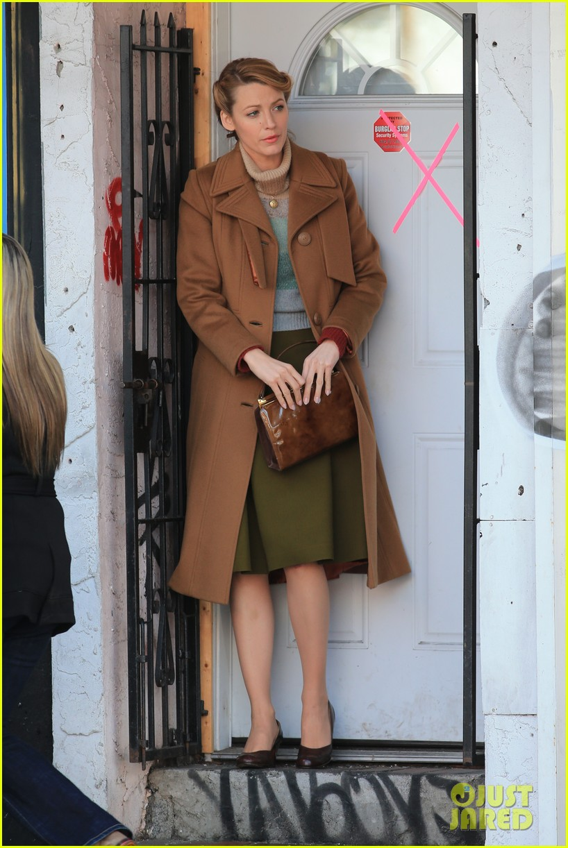 blake lively back at work on age of adaline after injury 01