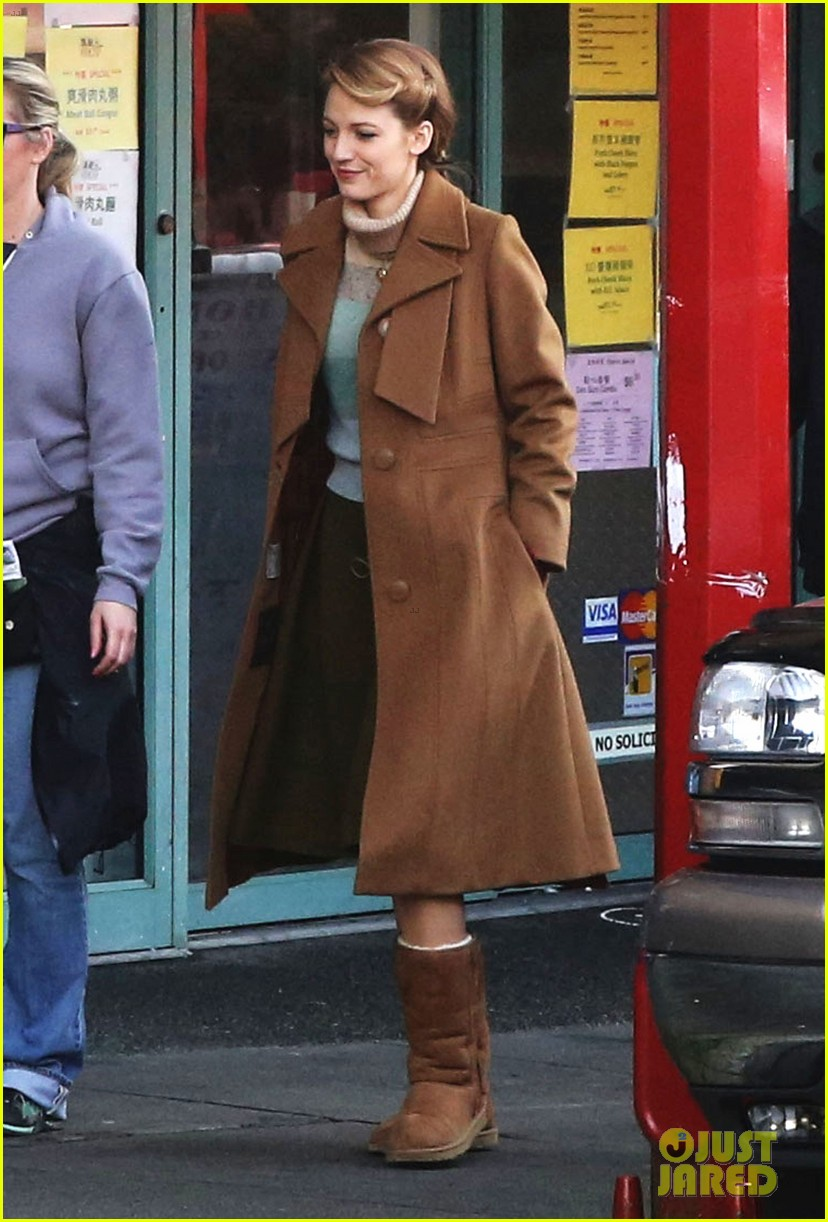 blake lively back at work on age of adaline after injury 183101418