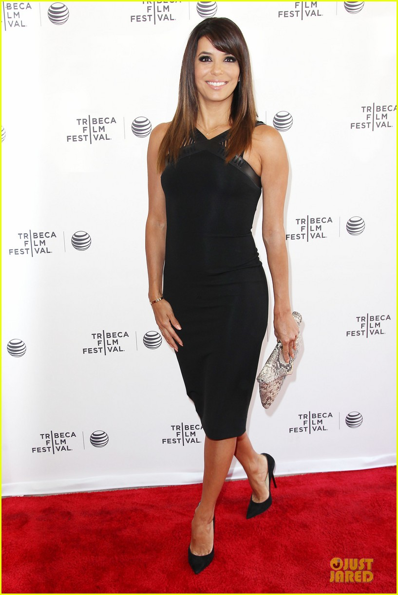 eva longoria exposes food chains at tribeca 053099729
