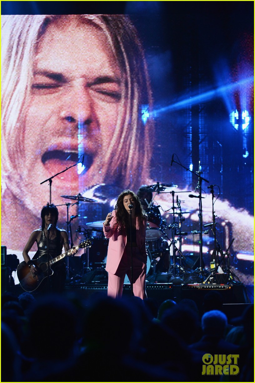 lorde nirvana rock roll hall of fame 06