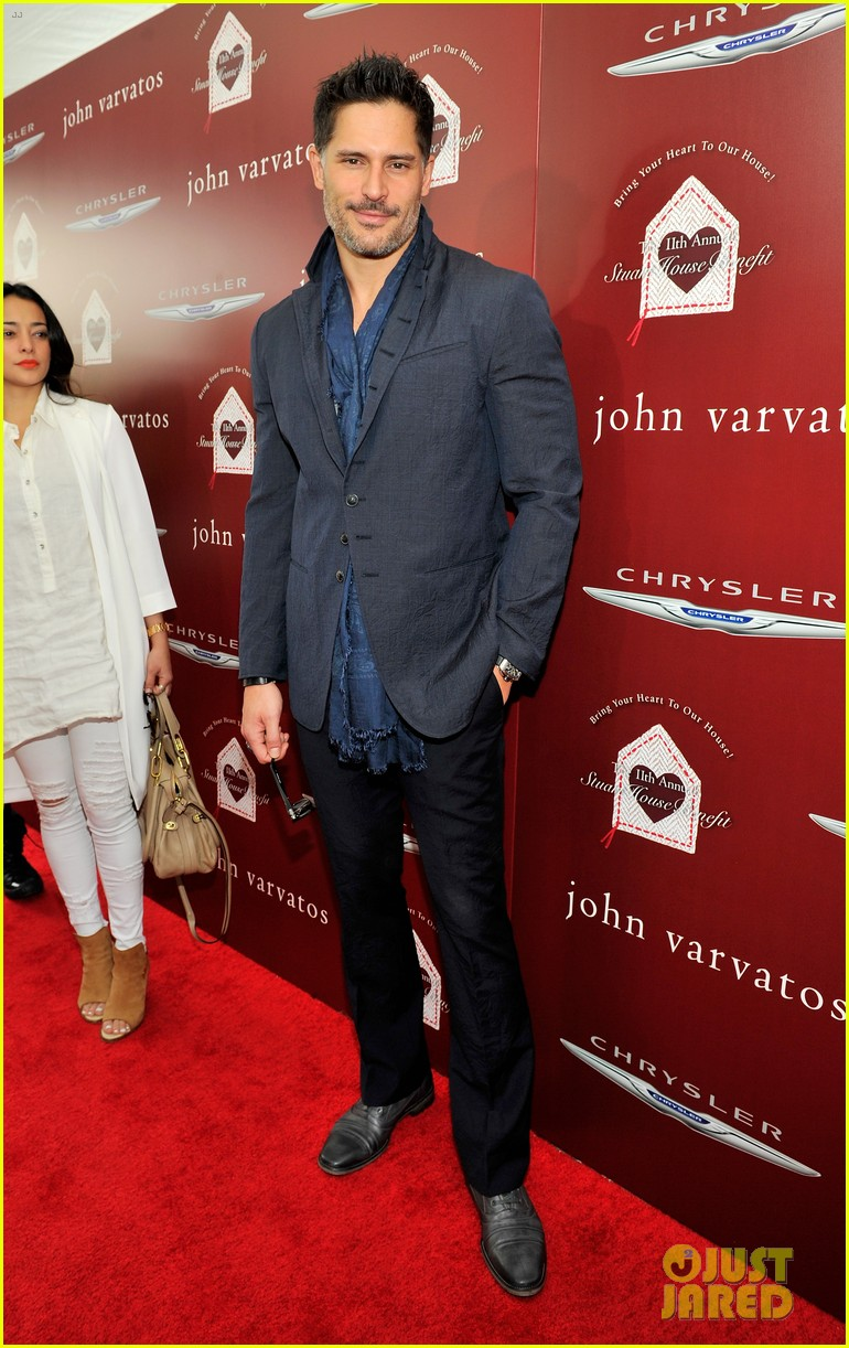 joe manganiello kat graham show their support at the john varvatos stuart house benefit 123091735