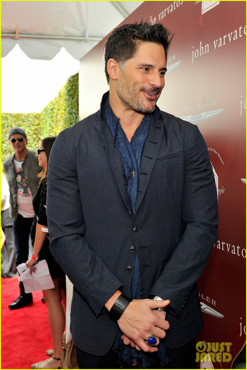 joe manganiello kat graham show their support at the john varvatos stuart house benefit 20