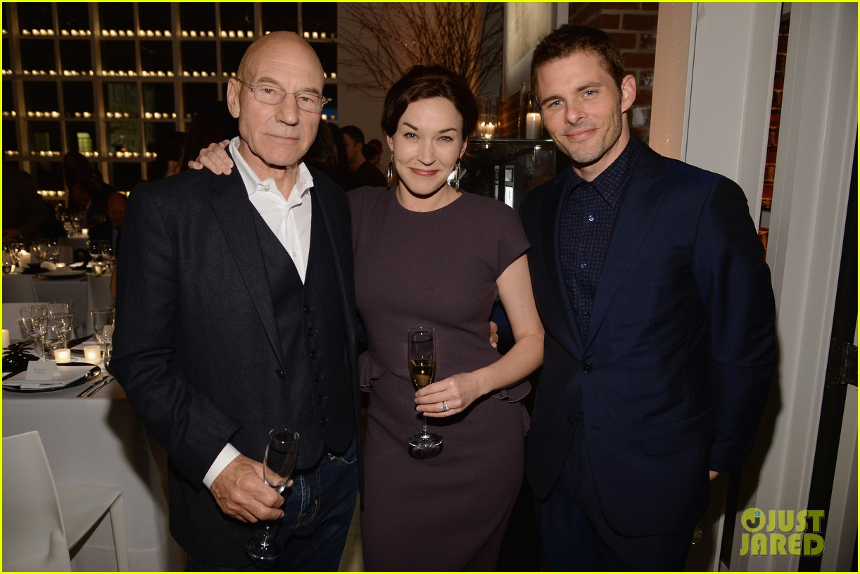 x men patrick stewart james marsden iwc tribeca dinner 08