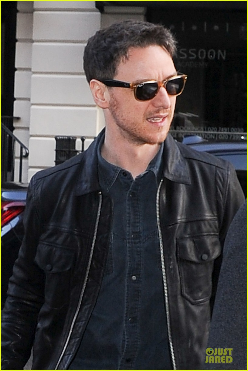james mcavoy serious swagger in leather 04