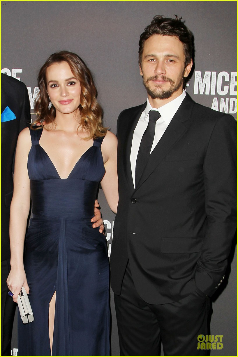 leighton meester james franco of mice men after party 06